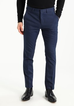 Selected Homme - MATHCOLE SLIM FIT - Anzughose - dark blue