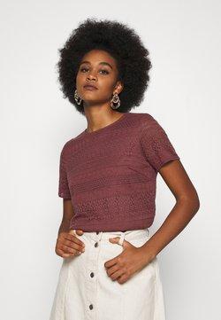 Vero Moda - T-Shirt print - rose brown
