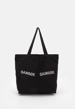 Samsøe Samsøe - FRINKA SHOPPER - Shoppingveske - black