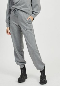 Vila - Jogginghose - medium grey melange