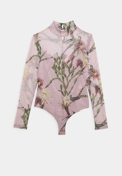 AllSaints - NOLINA ELIA BODYSUIT - Langarmshirt - plaster pink