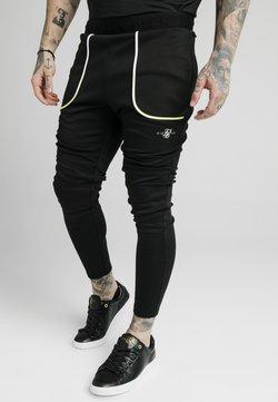 SIKSILK - LEGACY FADE TRACK PANTS - Jogginghose - black