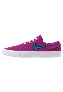 Nike SB - ZOOM JANOSKI - Sneakers laag - vivid purple/laser blue/black/light brown