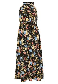 Dorothy Perkins Curve - TIE NECK FLORAL DRESS - Maxikjoler - multi coloured