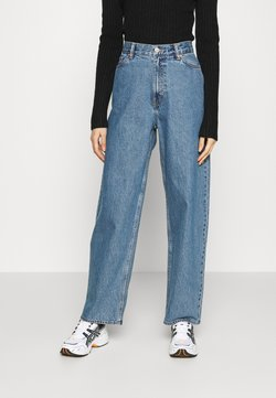 Weekday - RAIL  - Jeans relaxed fit - wash 90's blue