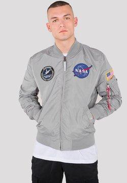 Alpha Industries - NASA - Giubbotto Bomber - silver