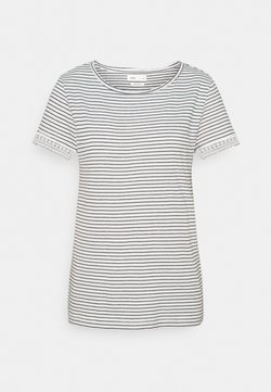 Springfield - CROCHET - T-Shirt print - ivory