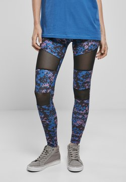 Urban Classics - TECH - Leggings - Hosen - digital duskviolet camo