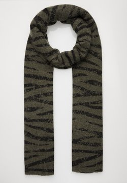 Repeat - ANIMAL PRINT - Szal - khaki/black