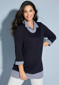MIAMODA - Poloshirt - marineblau