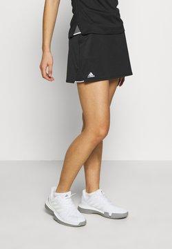 adidas Performance - CLUB SKIRT - Sportkjol - black/silver/white