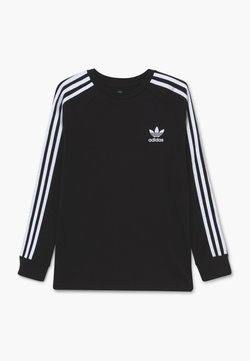 adidas Originals - T-shirt à manches longues - black/white