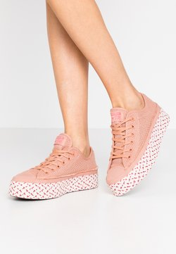 Converse - CHUCK TAYLOR ALL STAR - Trainers - rose gold/white/madder pink