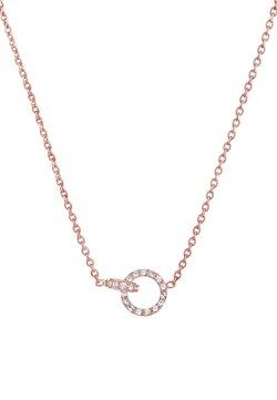Elli - GLASS CRYSTAL - Halsband - roségold