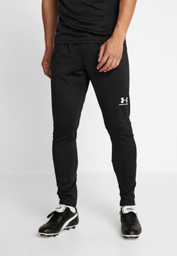 Under Armour - CHALLENGER TRAINING PANT - Tracksuit bottoms - black/white