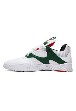 DC Shoes - KALIS  - Skateschuh - white/green
