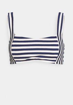 Women Secret - STRIPES - Bikini-Top - blue