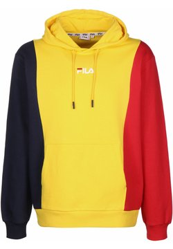Fila - SABURO - Sweat à capuche - dandelion/true red/blk iris