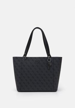 Guess - NOELLE ELITE TOTE - Shopping Bag - coal