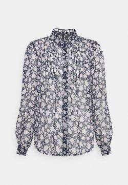 Vero Moda - VMMOLLY PLEAT - Camicetta - navy blazer