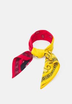 Mennace - PAISLEY PRINT BANDANA UNISEX - Chusta - yellow
