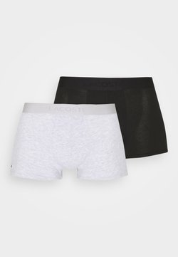 Lacoste - 2 PACK - Shorty - noir/argent chine