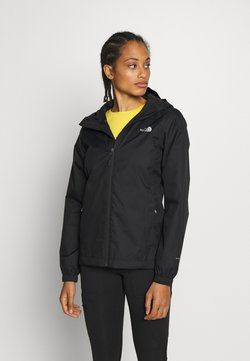 The North Face - QUEST JACKET - Hardshelljacke - black/foil grey