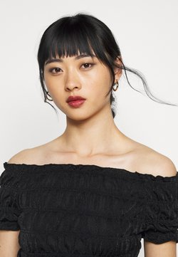 Pieces Petite - PCDJANE SMOCK - Top - black
