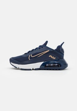 Nike Sportswear - AIR MAX 2090 - Sneakersy niskie - midnight navy/metallic red bronze/midnight navy