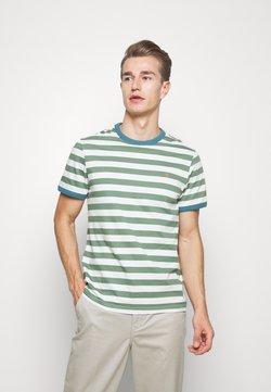 Farah - BELGROVE STRIPE TEE - T-shirt print - vine green