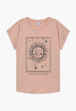Lindex - TEENS TINDRA - T-shirt print - light dusty pink