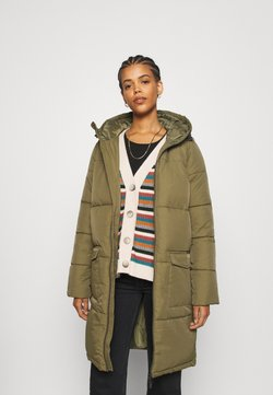 Object - OBJZHANNA LONG JACKET  - Wintermantel - burnt olive