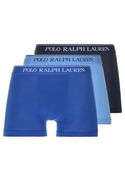 Polo Ralph Lauren - POUCH TRUNKS 3 PACK - Shorty - dark blue/blue/light blue
