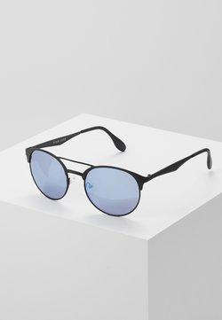 Pier One - UNISEX - Gafas de sol - black/blue