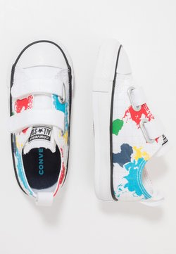 Converse - CHUCK TAYLOR ALL STAR WORLDWIDE - Baskets basses - white/university red/black