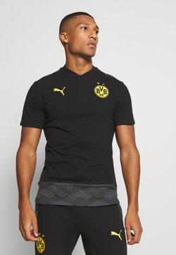 Puma - BVB BORUSSIA DORTMUND CASUALS - Squadra - black/cyber yellow