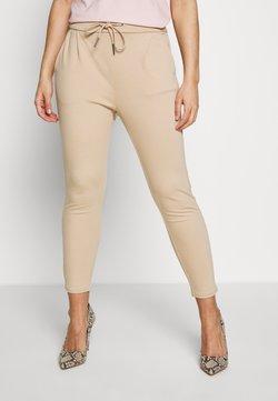 Vero Moda Petite - VMEVA LOOSE STRING PANTS - Jogginghose - beige