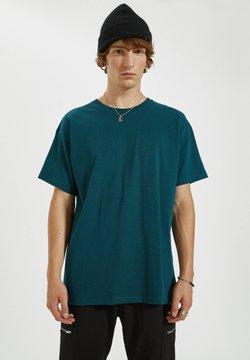 PULL&BEAR - T-shirt basic - dark green