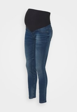 Lindex - MOM DOLLY - Jeans Slim Fit - medium denim