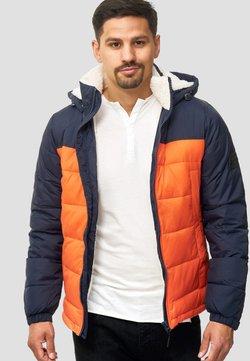 INDICODE JEANS - REGULAR FIT - Winterjacke - orange