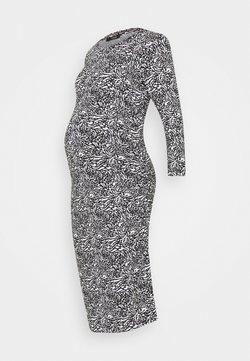 Supermom - DRESS ANIMALBLACK - Vestido ligero - black