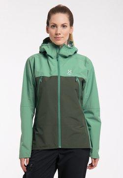 Haglöfs - SPIRA - Hardshelljacke - trail green/fjell green