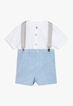 River Island - SUIT SET - Shorts - pale blue