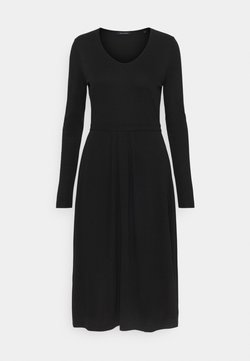 Marc O'Polo - DRESS LONG SLEEVES - Jerseykleid - black