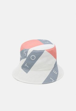 Tommy Jeans - HERITAGE FLAG BUCKET - Hoed - white