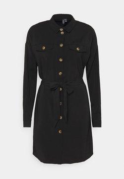 Vero Moda - VMCOCO DRESS  - Abito a camicia - black