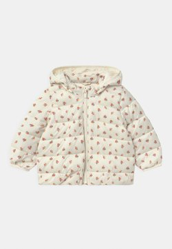 GAP - PUFFER HOOD - Chaqueta de invierno - ivory frost