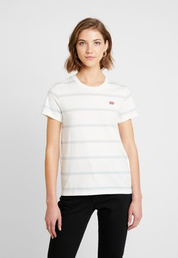 Levi's® - PERFECT TEE - T-Shirt print - alyssa cloud dancer