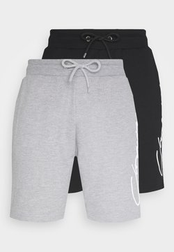CLOSURE London - SCRIPT 2 PACK  - Jogginghose - grey/black