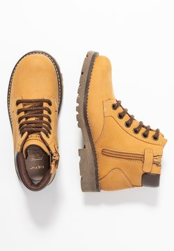 Geox - AXEL BOY - Schnürstiefelette - dark yellow